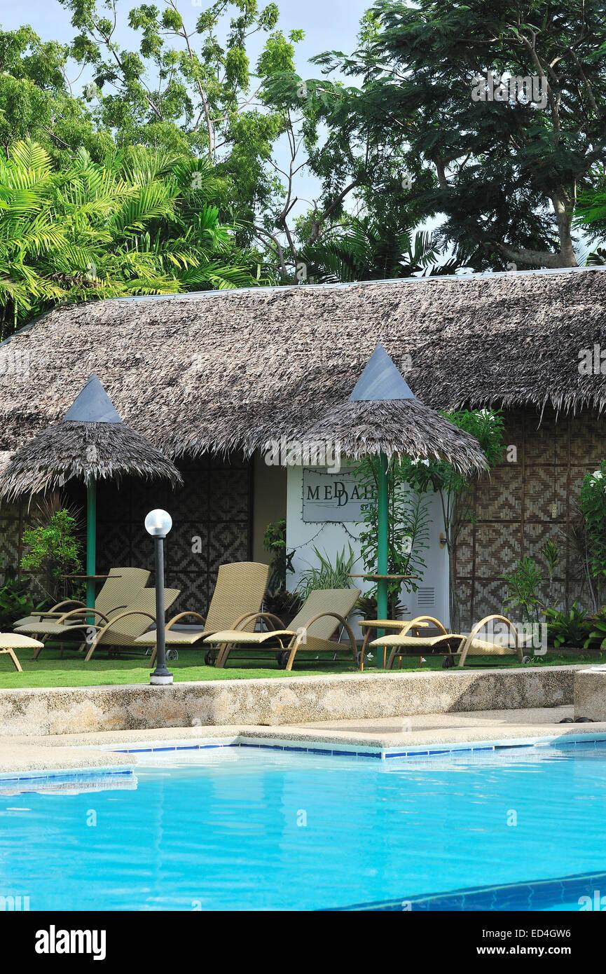 jardines con piscina Jardines Jardines Piscina Marcosas Cottages Hotel Cebu
