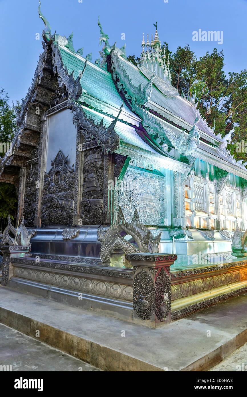 Wat Sri suplan (Templo de plata), Chiang Mai, Tailandia Imagen De Stock