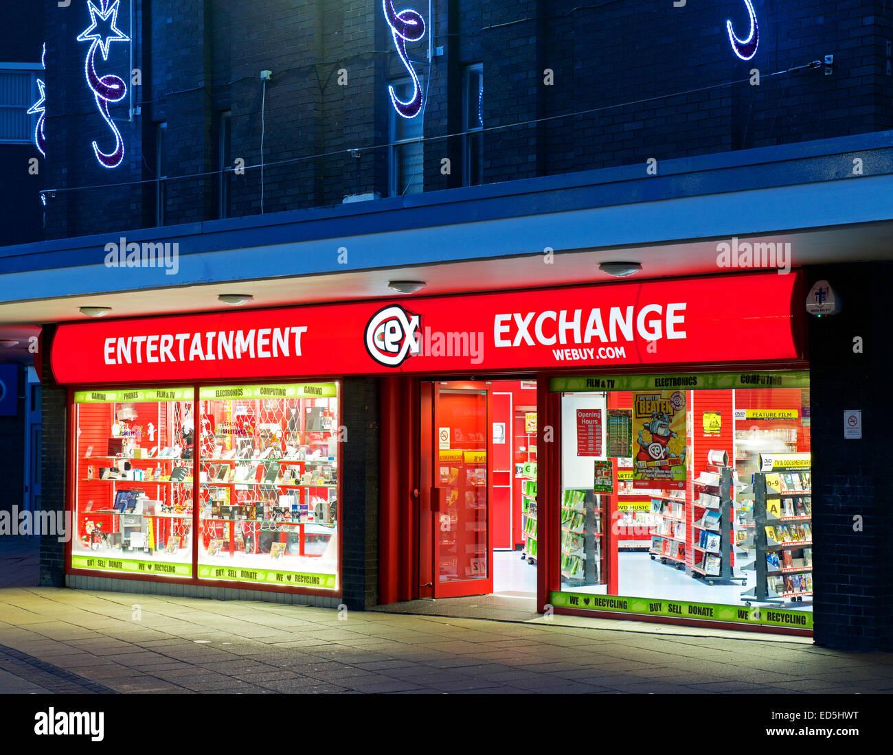 Intercambio de entretenimiento en Burnley, Lancashire, Inglaterra Imagen De Stock