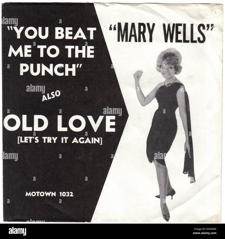 MARY WELLS - circa 1960. Weems Granamour cortesía Colección. Sólo para uso editorial. El licenciatario Imagen De Stock