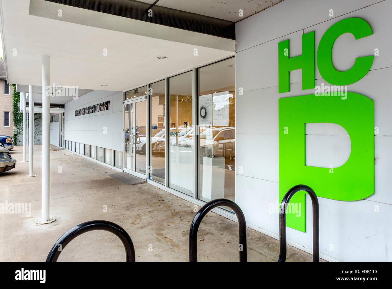 Centro de Houston para la fotografía (HCP), Montrose/distrito de museos de Houston, Texas, EE.UU. Imagen De Stock