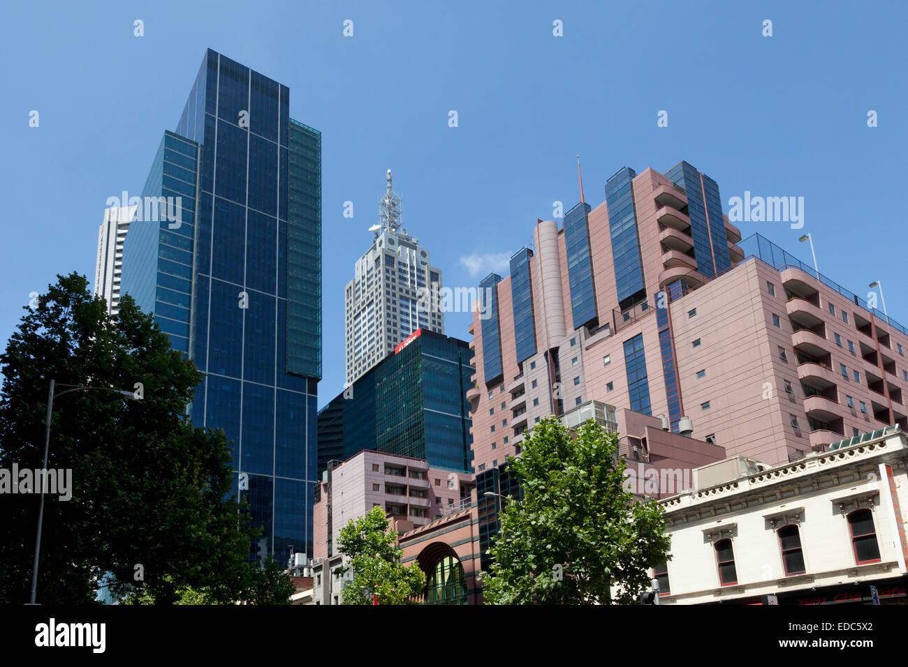 Arquitectura moderna en Melbourne, Australia Imagen De Stock