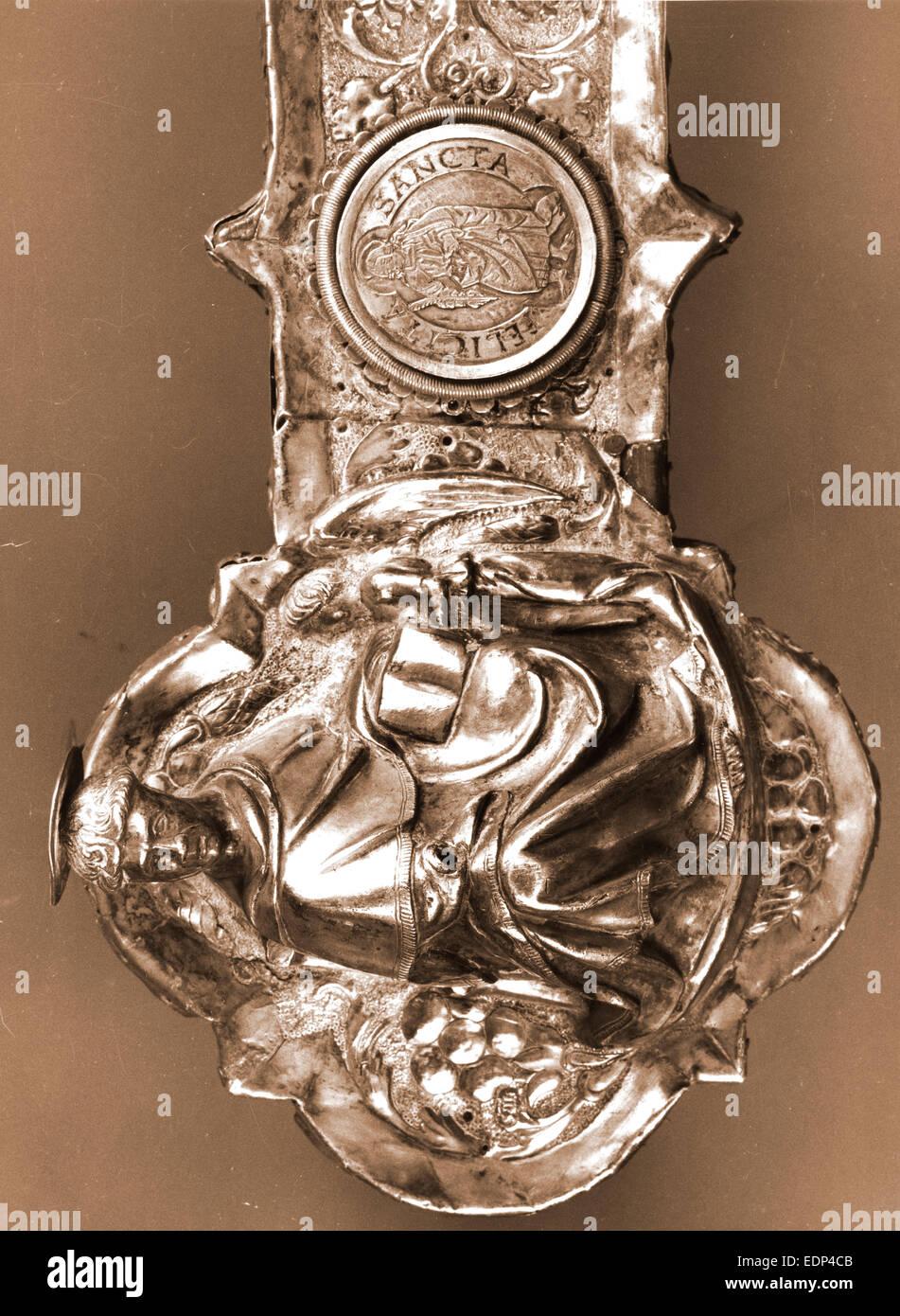 Los Abruzos, L'Aquila, Celano, museo, Italia, siglo xx, foto, fotografía, Europa Imagen De Stock