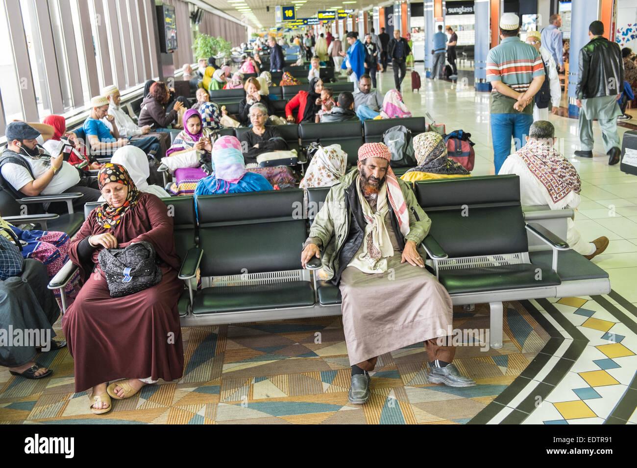 El Aeropuerto Internacional de Bahrein, Bahrein, Oriente Medio Imagen De Stock