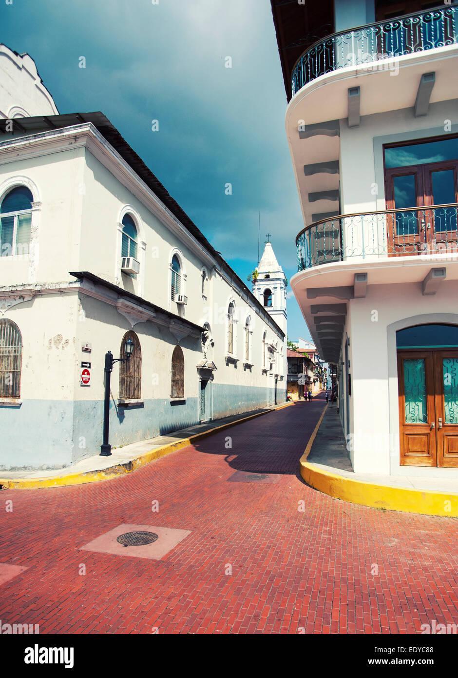 Casco Antiguo, Ciudad de Panamá Foto de stock