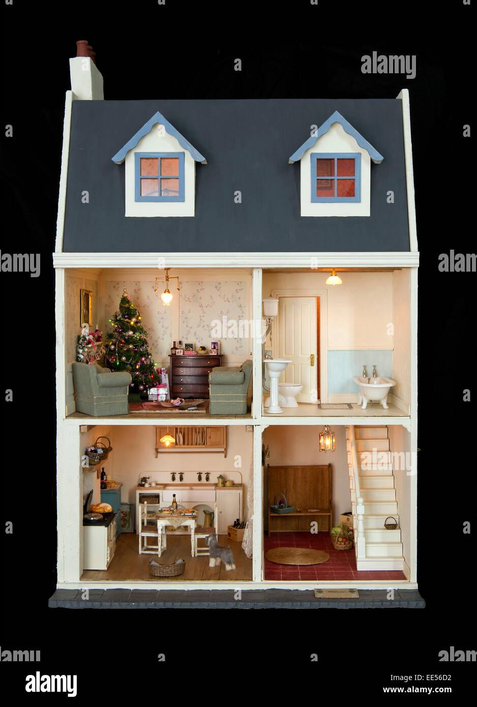Casa de muñecas en miniatura Persil Shop Stock Caja y 3 cajas Suelto