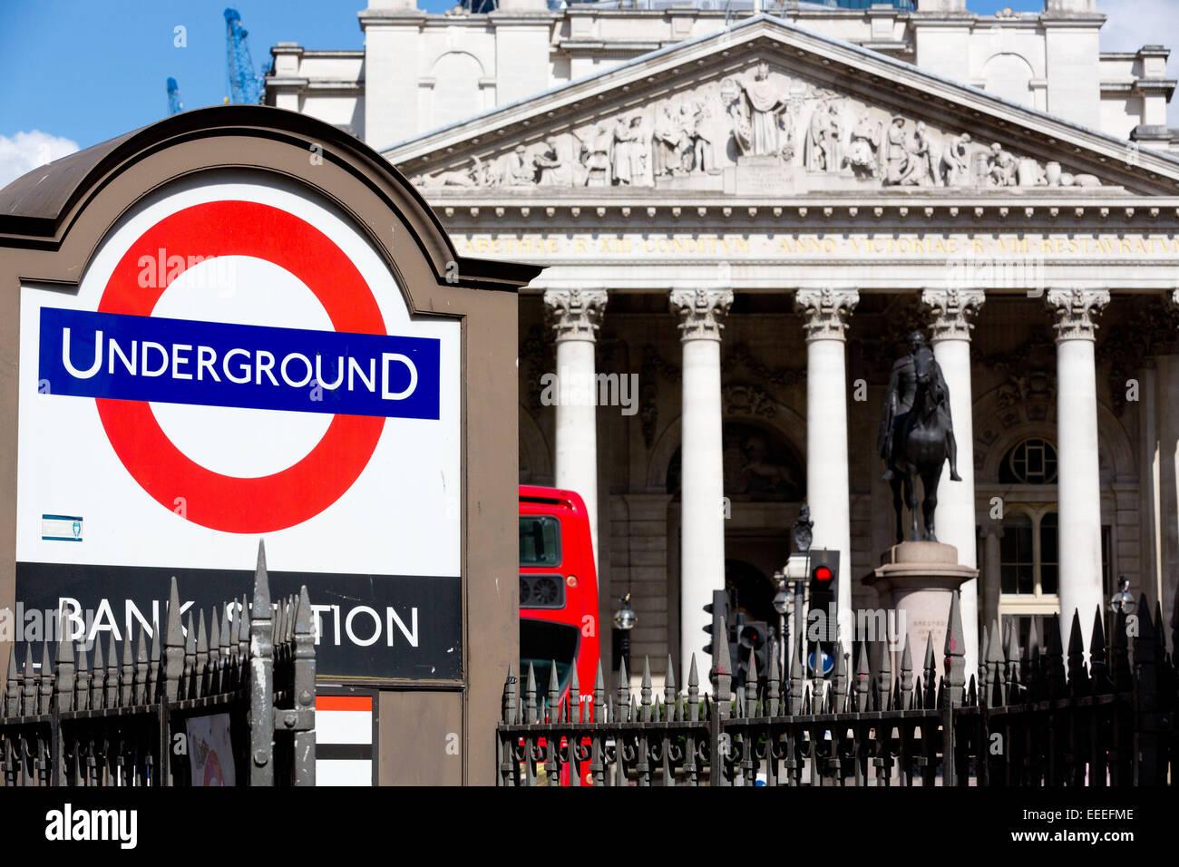 El Roundel Bank Imagen De Stock