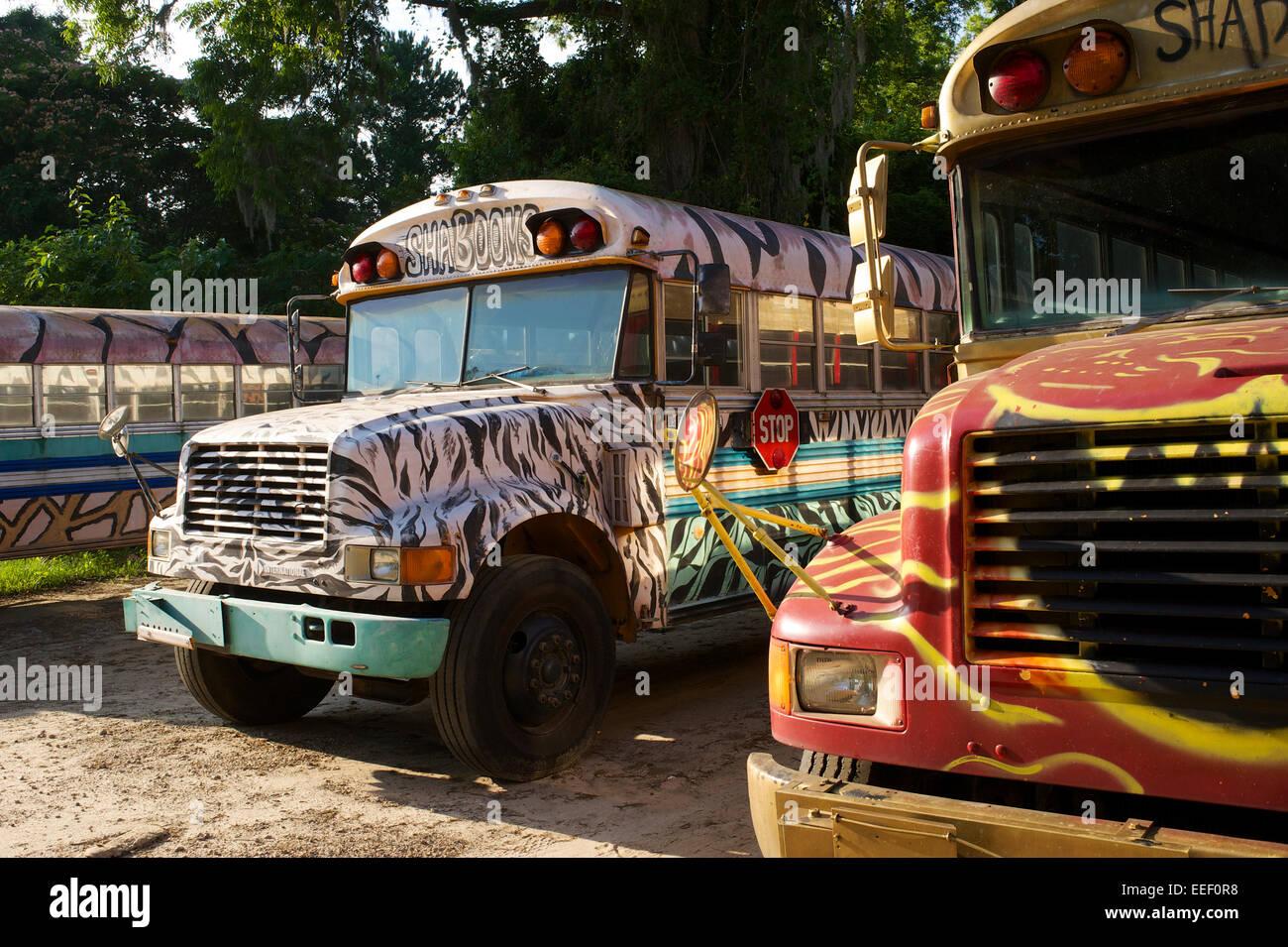 Tallahassee parte autobuses Imagen De Stock