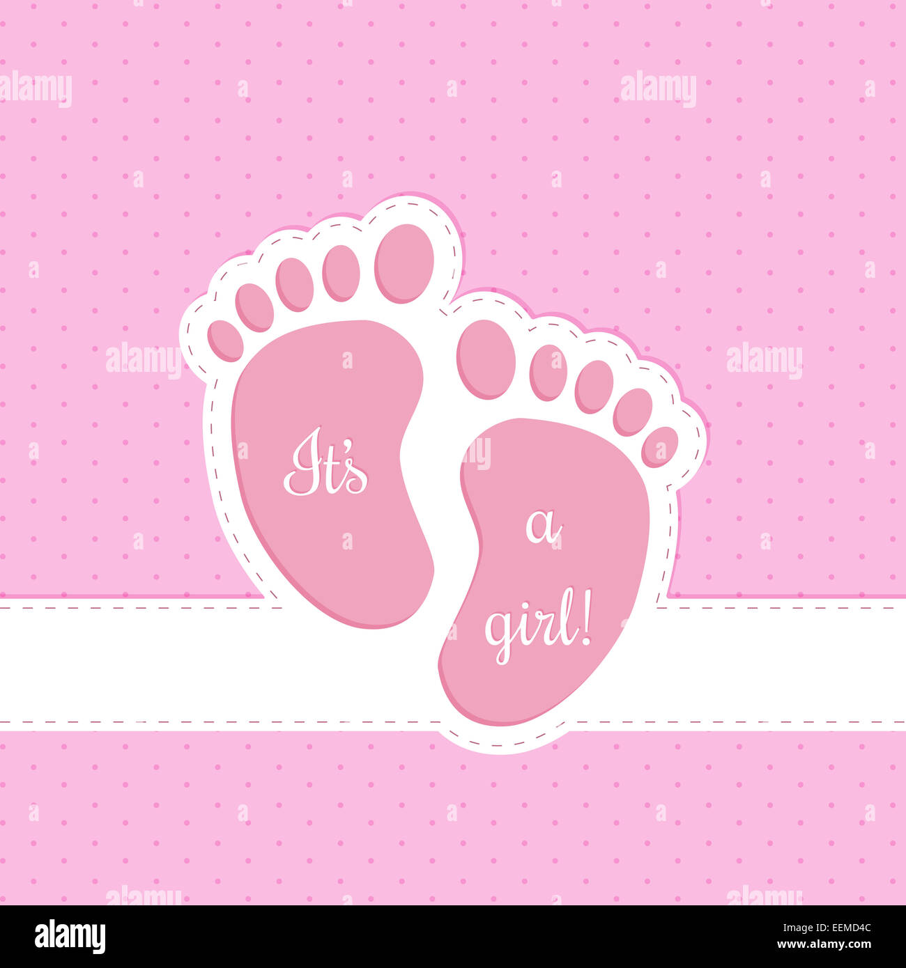7ff7dcf12879c Tarjeta de felicitación de baby shower invitación de diseño para bebé niña