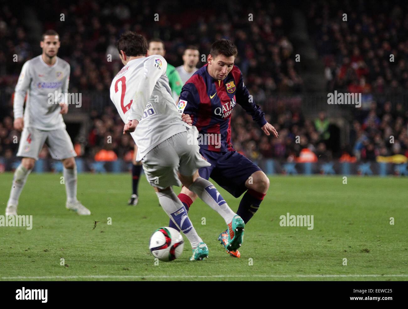 Barcelona, España. 21 ene, 2015. Copa del Rey cuartos de final ...