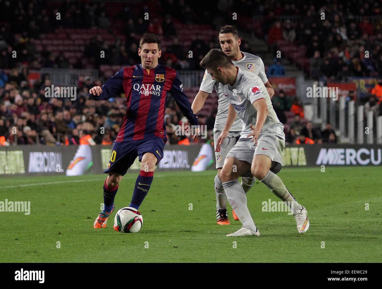 Barcelona, España. 21 ene, 2015. Copa del Rey cuartos de ...
