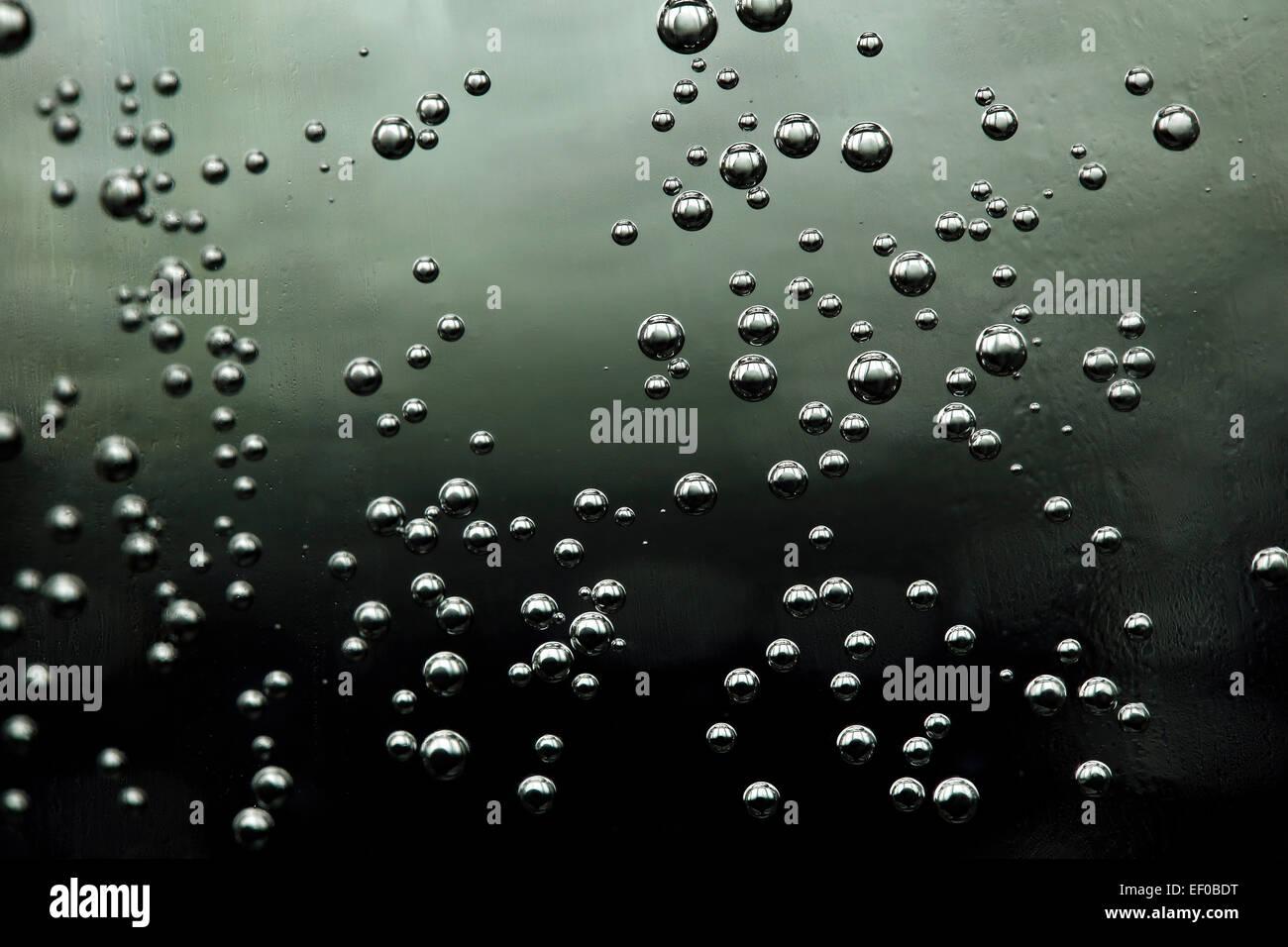 Agua gaseosa mineral cerca Imagen De Stock