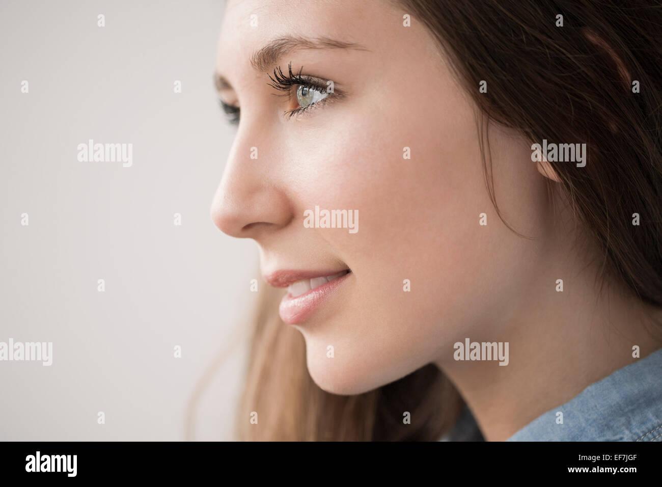 Feliz adolescente Foto de stock