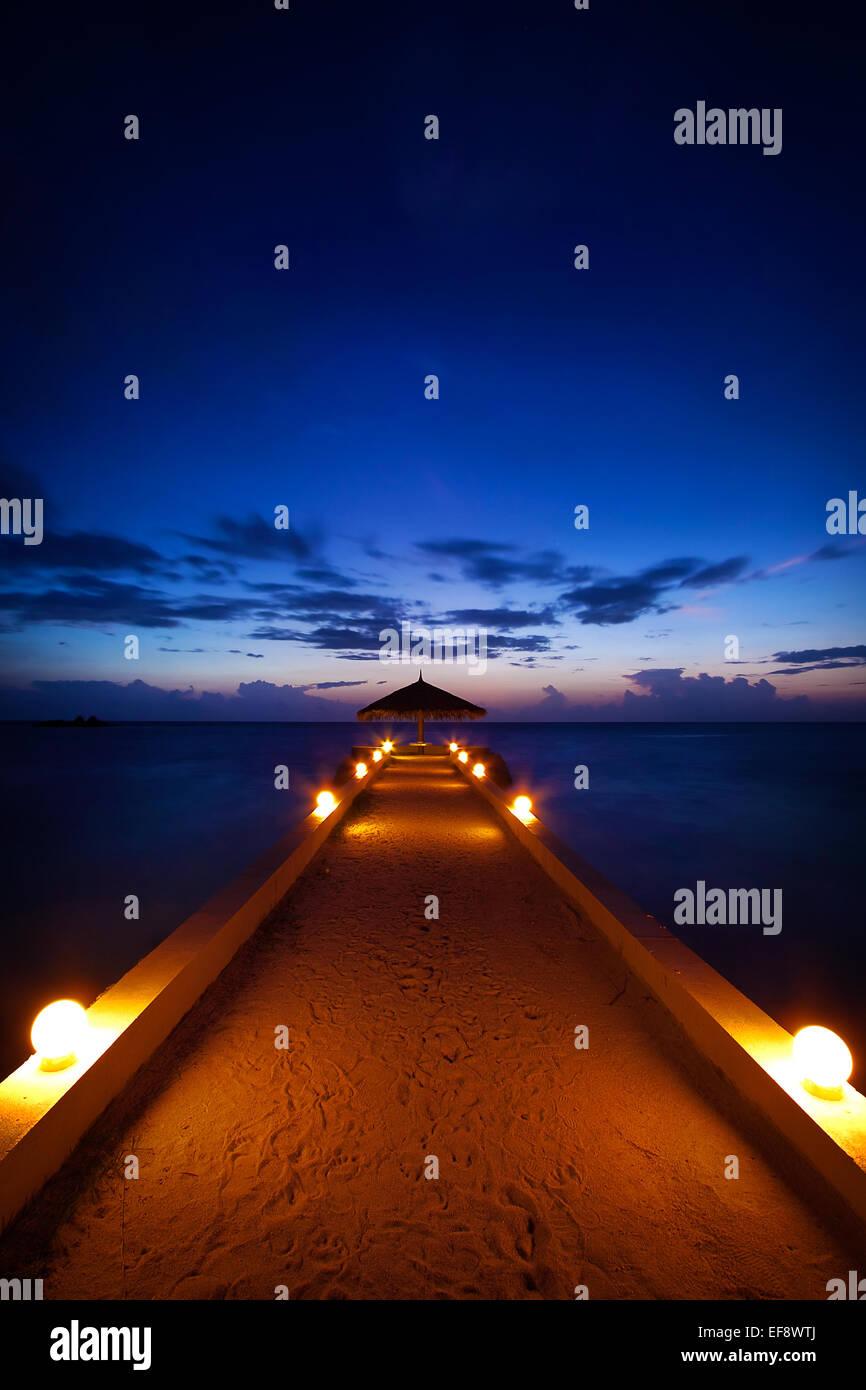 Romanti cena para dos Imagen De Stock