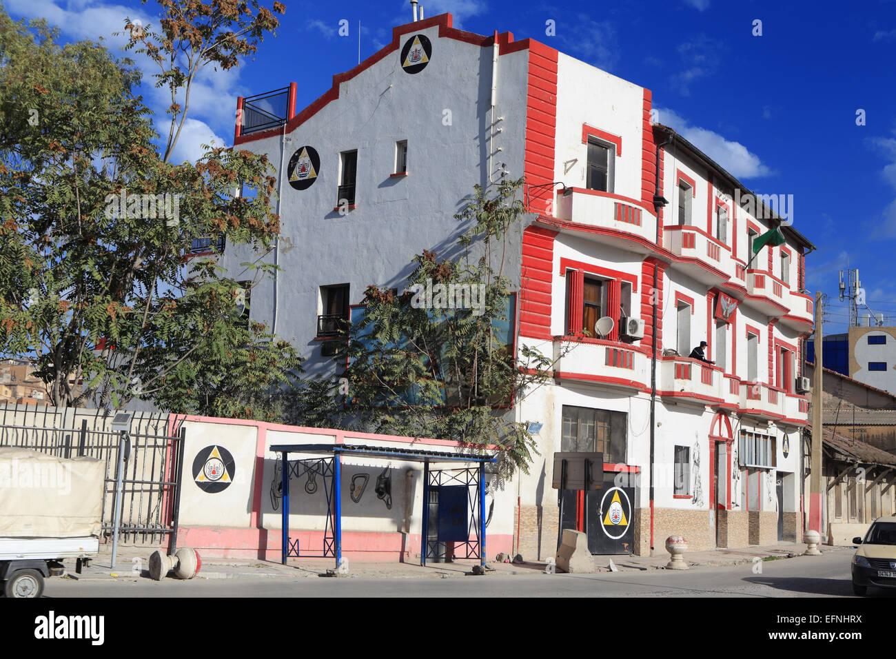 Centro de la ciudad, Constantina, Argelia Imagen De Stock