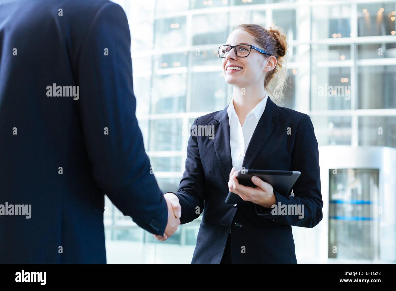 Reunión de gente de negocios Imagen De Stock