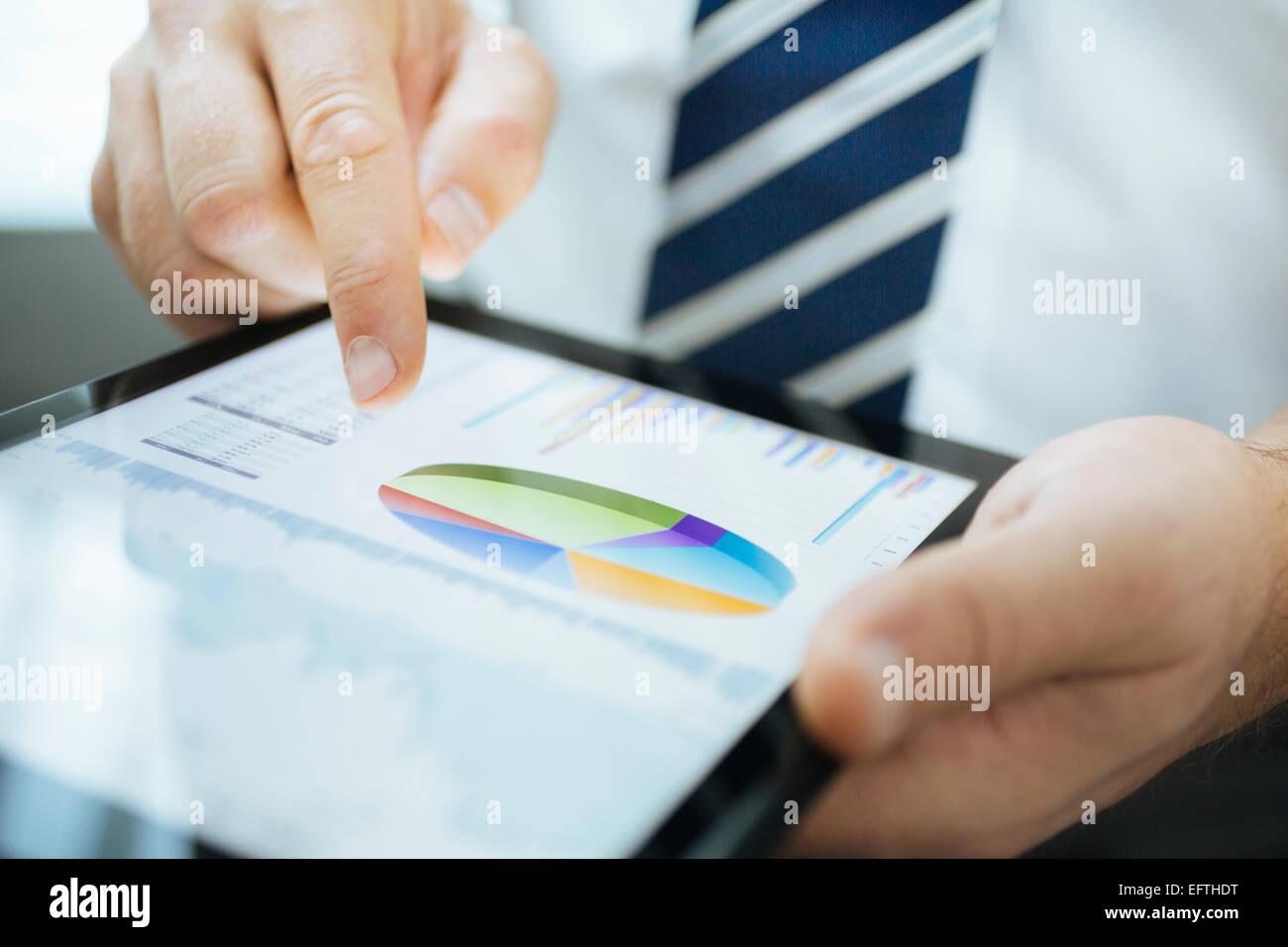 Tableta digital Imagen De Stock