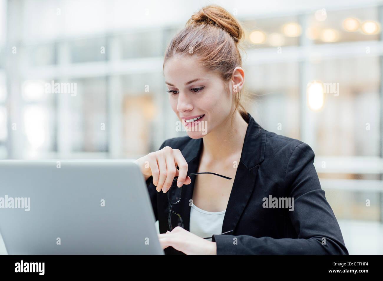 Retrato de mujer de negocios Imagen De Stock