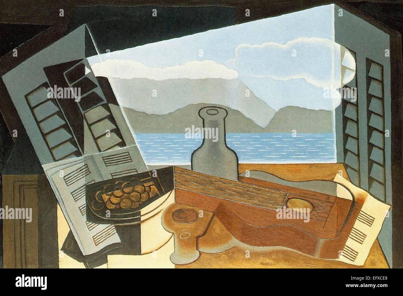 Juan Gris la ventana abierta Imagen De Stock