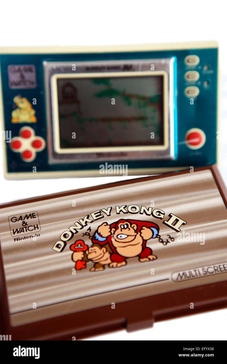 Nintendo Donkey Kong Jr Y Donkey Kong Ii 80 Juegos Electronicos De