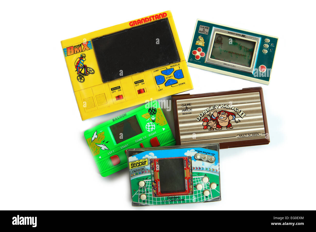 Seleccion De Juegos Electronicos De Mano Incluyendo Nintendo Donkey