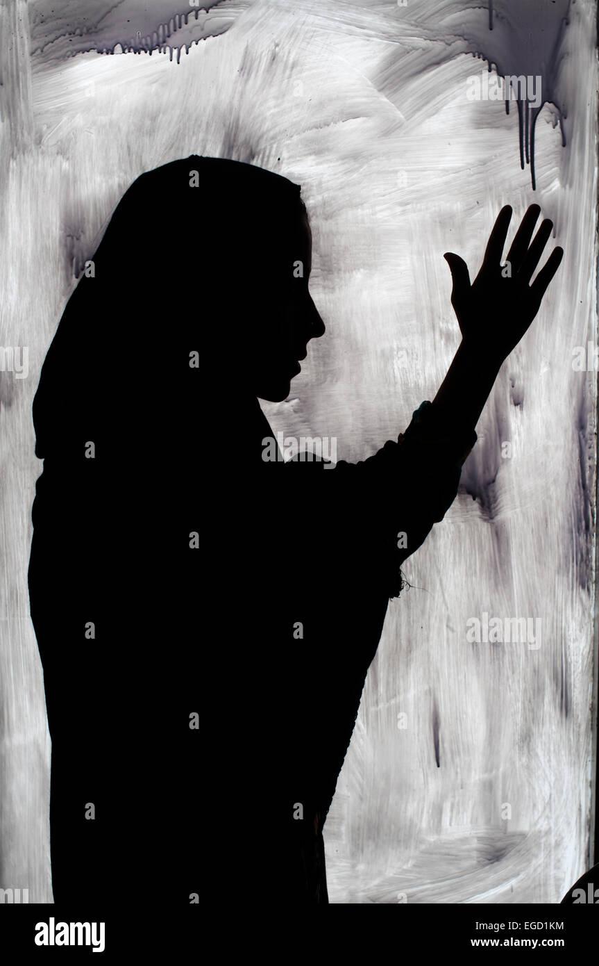 Kabul. Hawca refugio seguro para las mujeres. Víctima de violencia doméstica Imagen De Stock