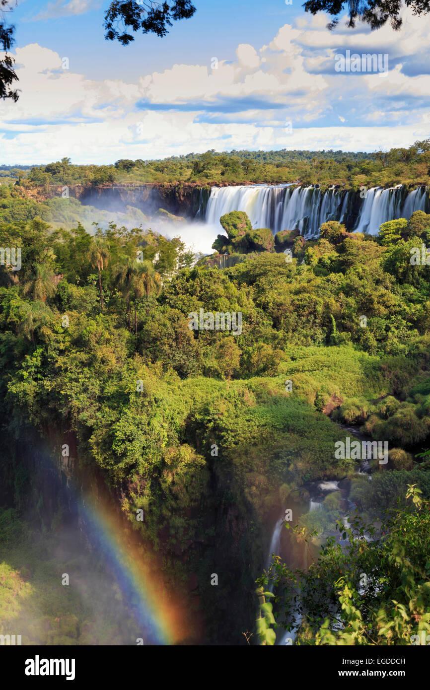 Argentina, el Parque Nacional de las Cataratas del Iguazú, (UNESCO Sitio) Imagen De Stock