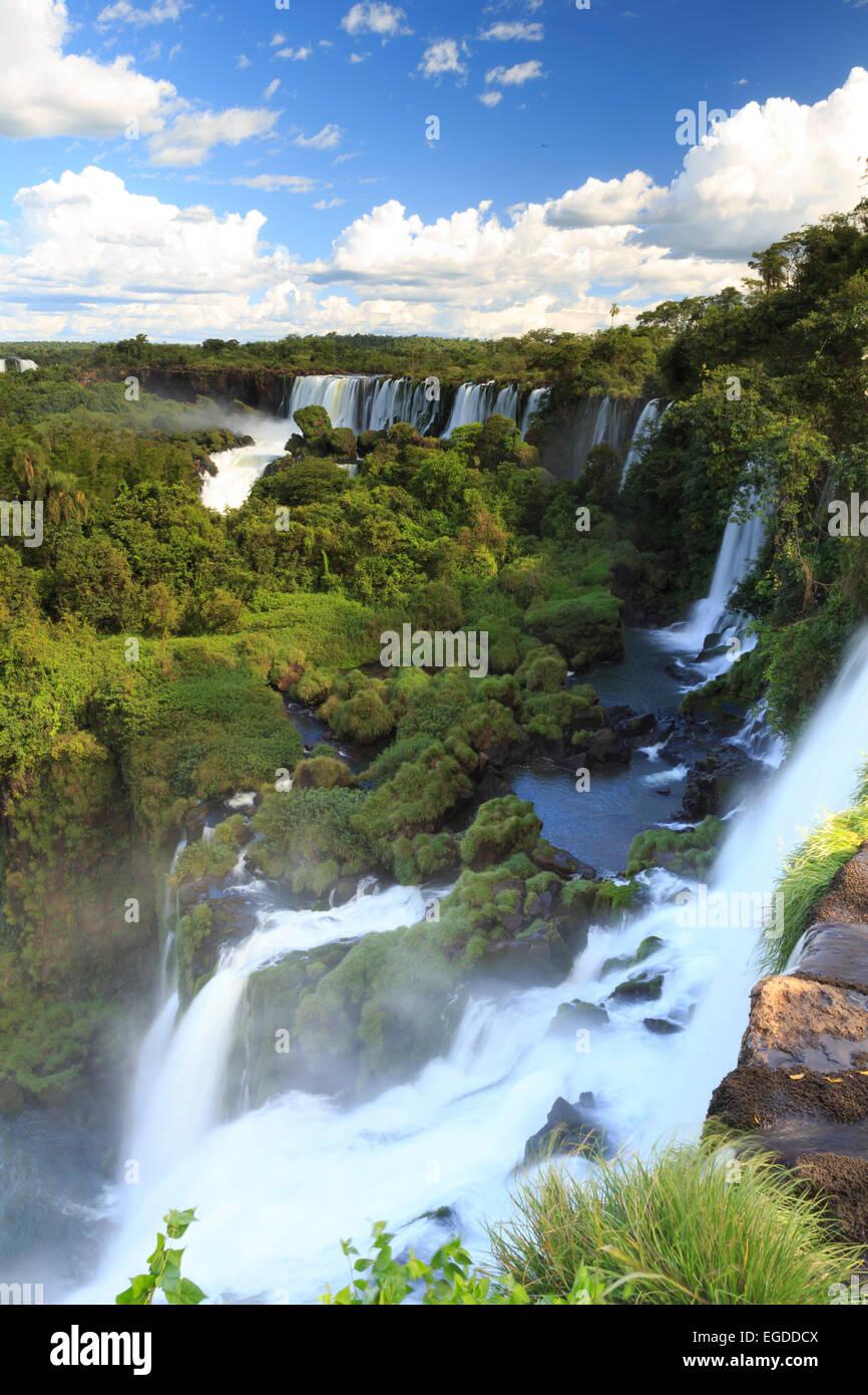 Argentina, el Parque Nacional de las Cataratas del Iguazú, (UNESCO Sitio) Foto de stock