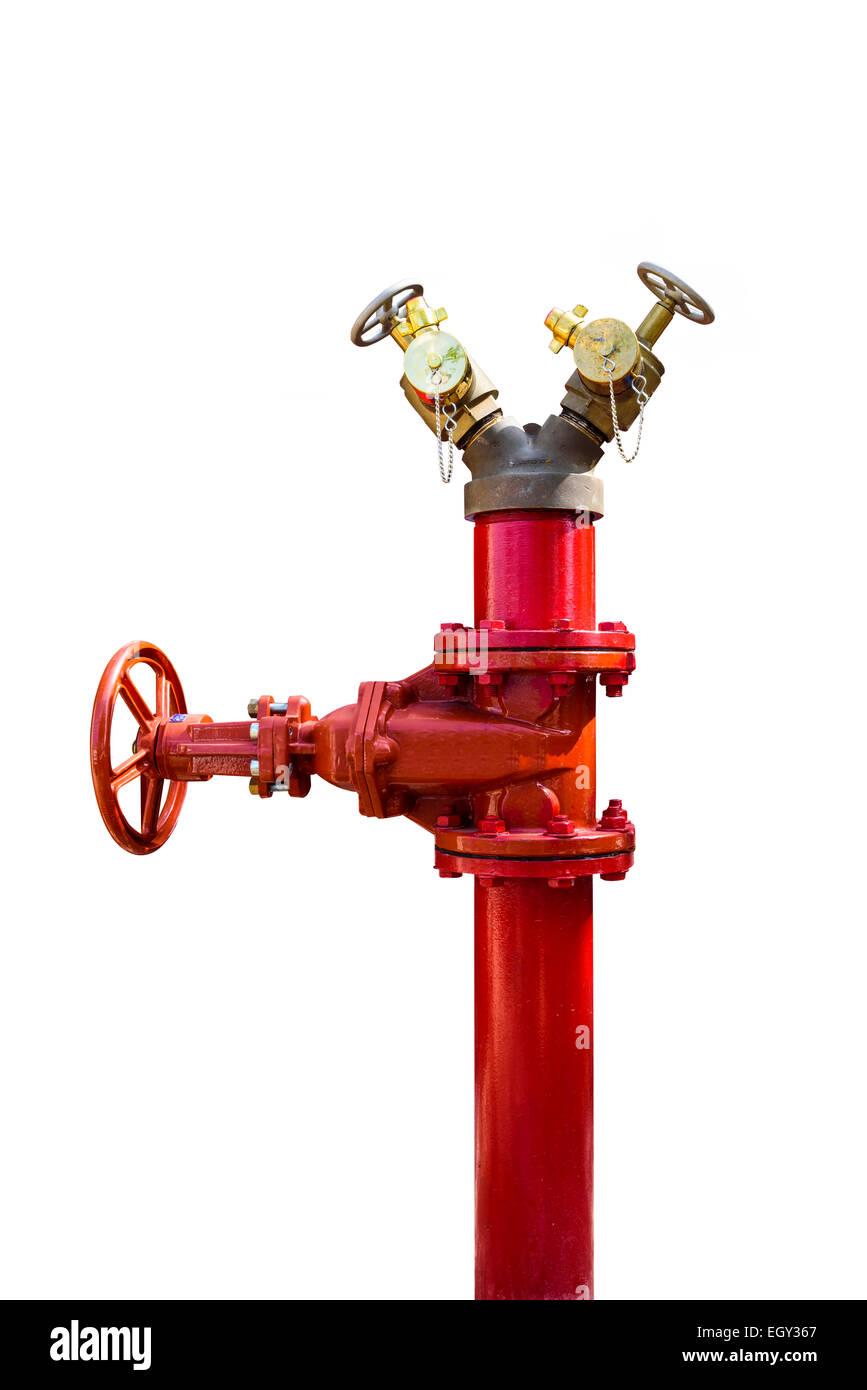Aislar el tubo de fuego Foto de stock