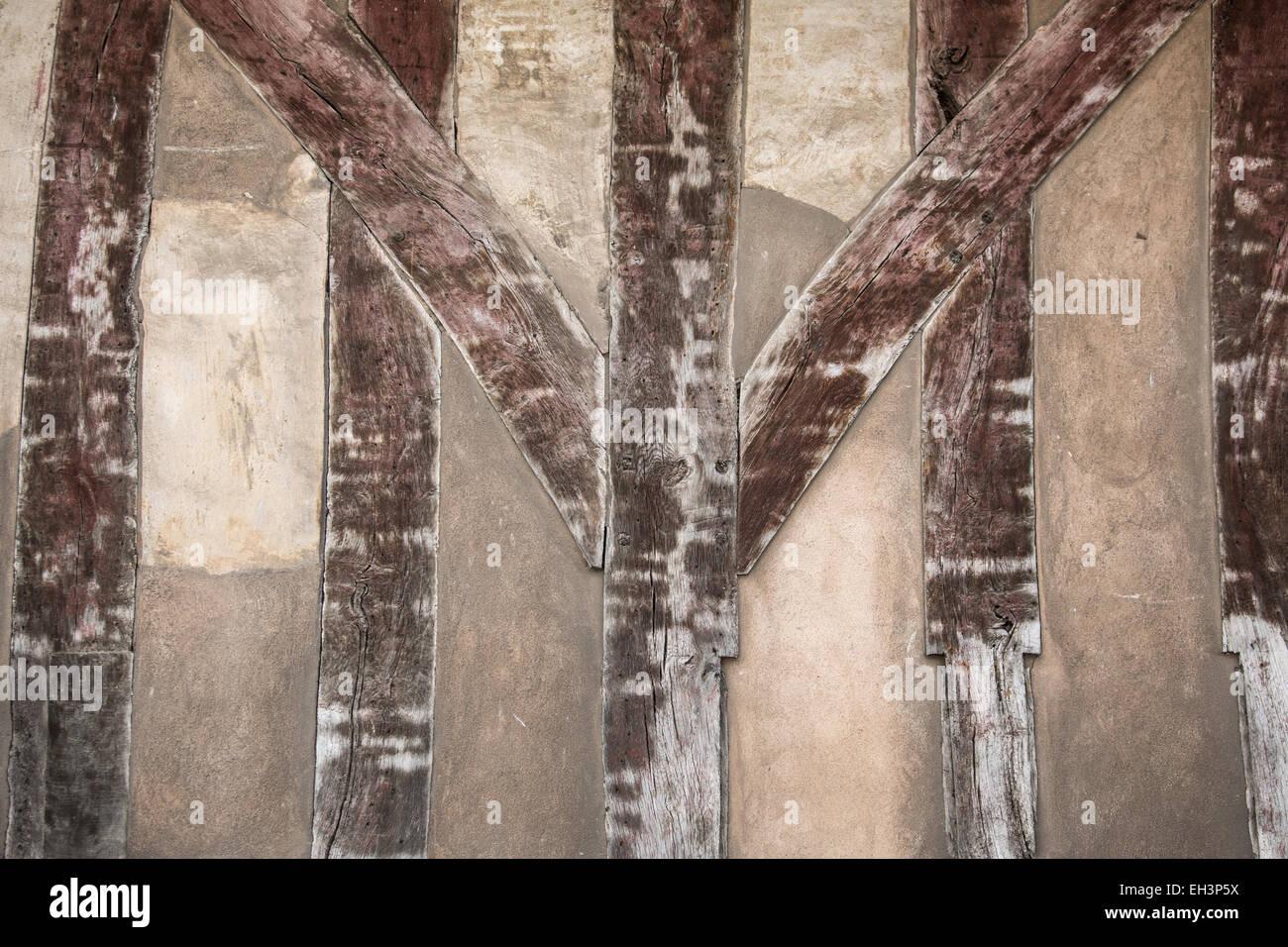 Detalles y características arquitectónicas de los edificios históricos en Inglaterra, Reino Unido, Imagen De Stock
