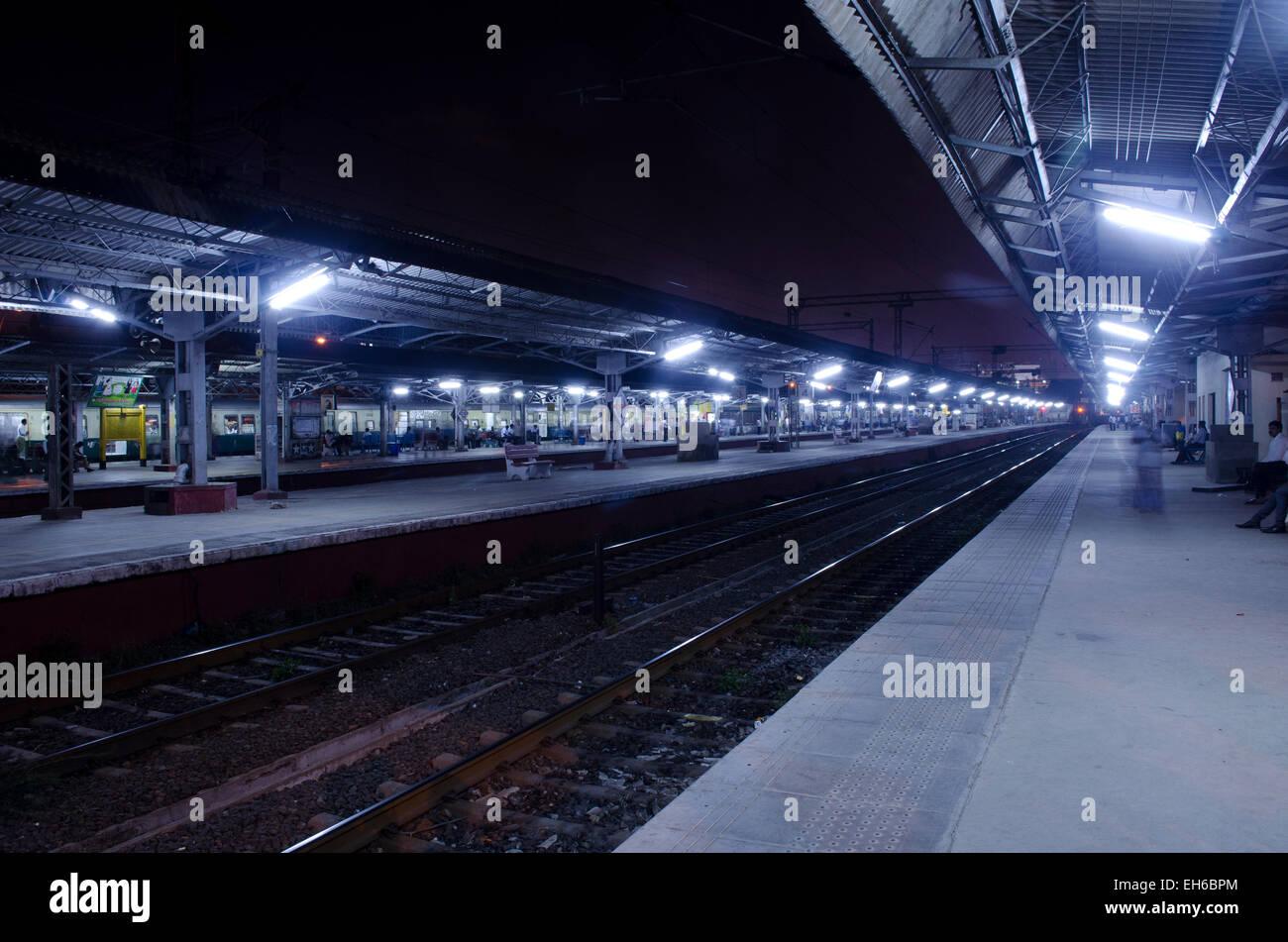 Una vista de Fort Estación, Chennai, Tamilnadu, India Foto de stock