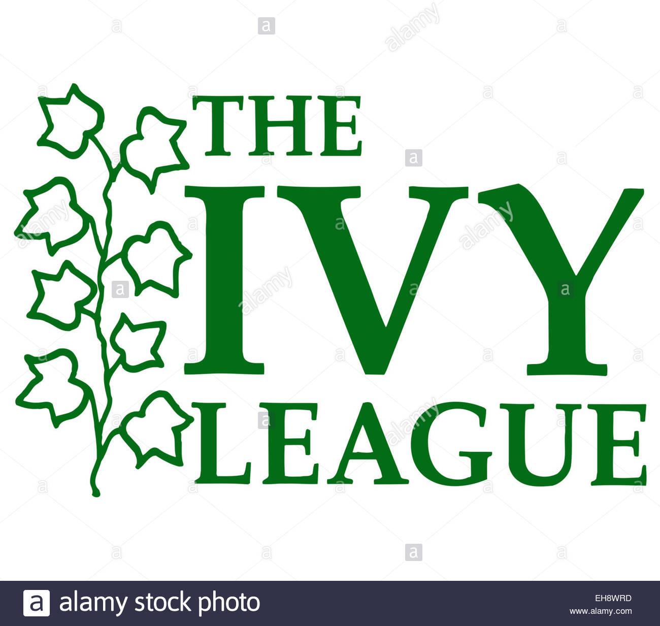 Logotipo de Ivy League icono símbolo Imagen De Stock