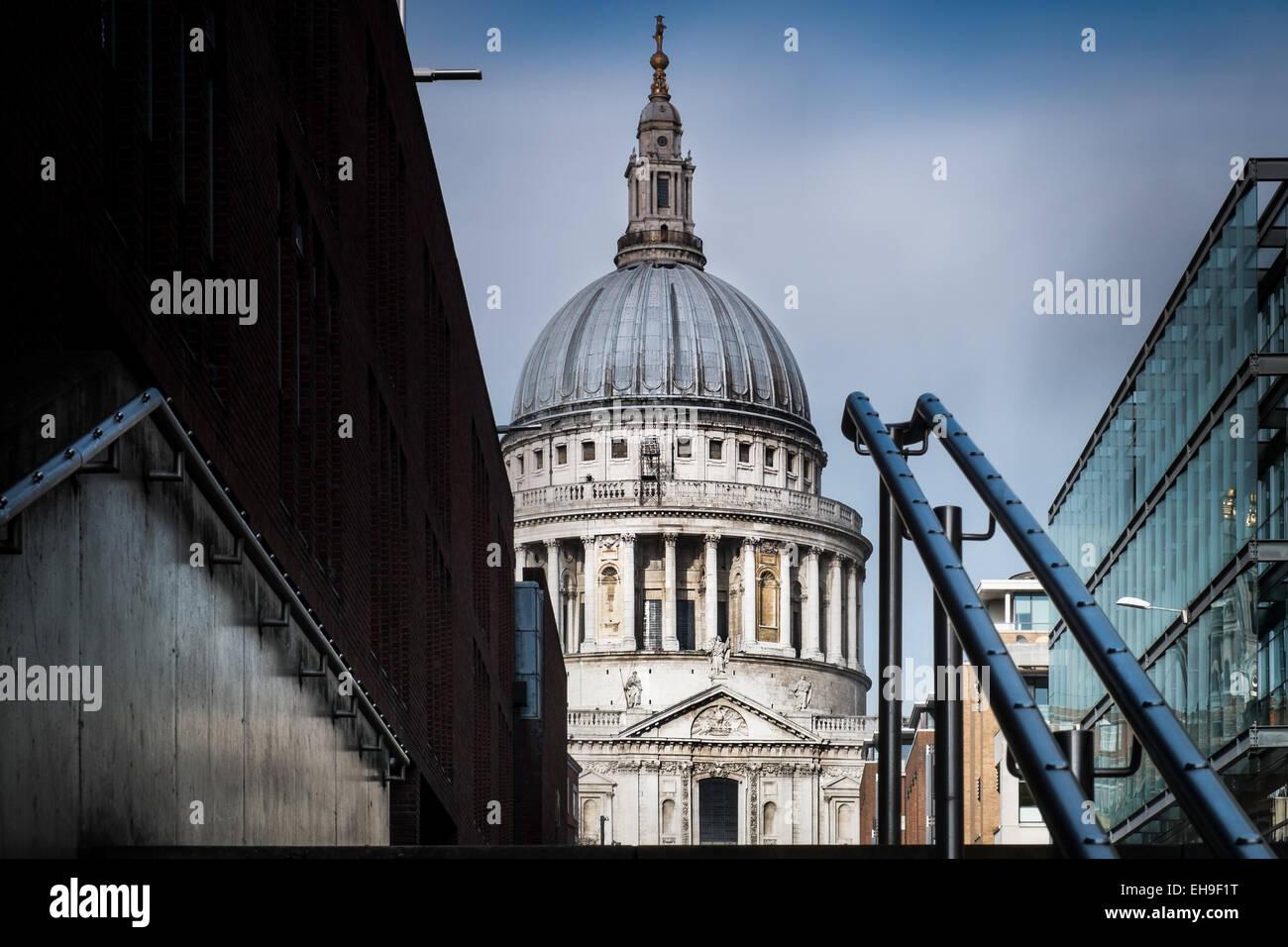 La catedral de San Pablo, Londres Imagen De Stock