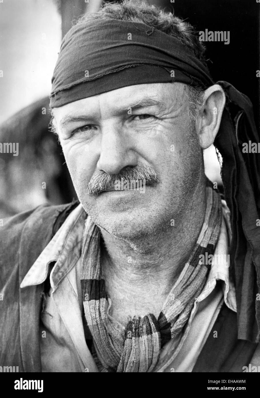 Gene Hackman, retrato de la película 'Rara' de valor, 1983 Foto de stock