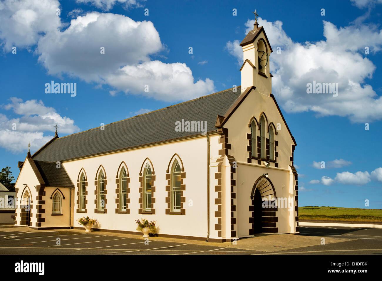 Iglesia Rathlee. Rathlee, Irlanda Imagen De Stock