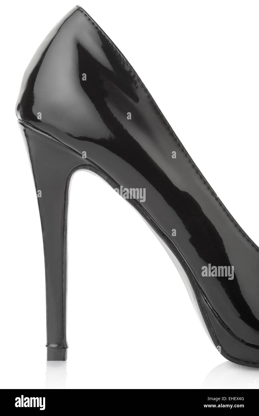 Zapatos de Tacón negro detalle Imagen De Stock Zapatos de Tacón negro  detalle. EHEX4G (RF). Señoras clásico corte stiletto zapatos con un tacón  muy alto ... efed1bab082c