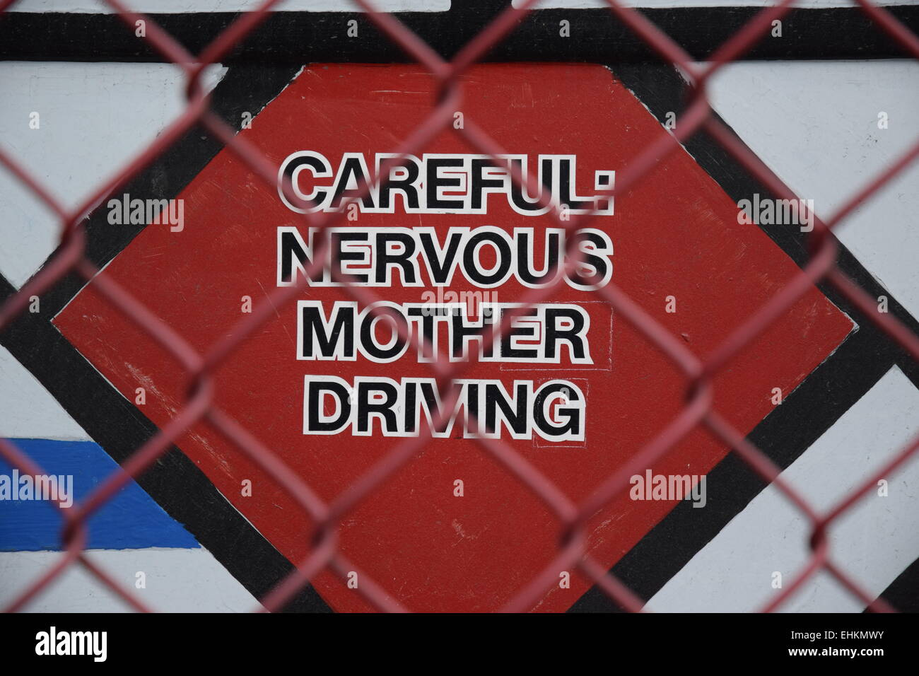 Madre signo nervioso. Imagen De Stock
