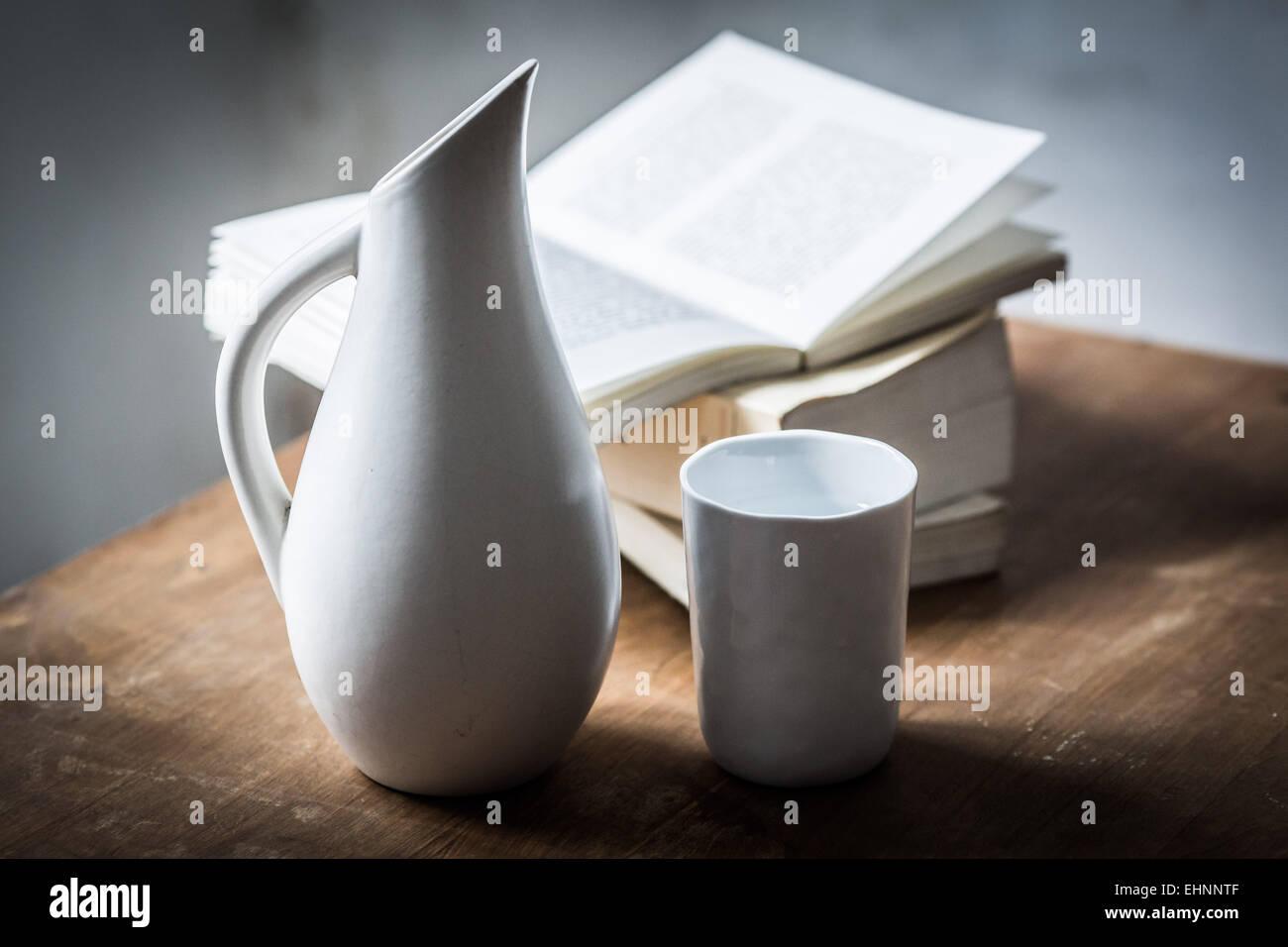 Vaso de agua. Imagen De Stock
