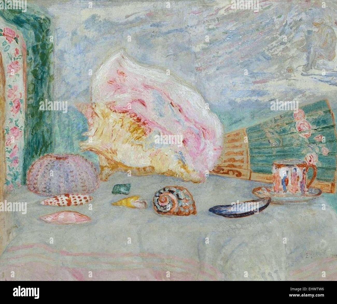 James Ensor Bodegón con conchas de mar Imagen De Stock