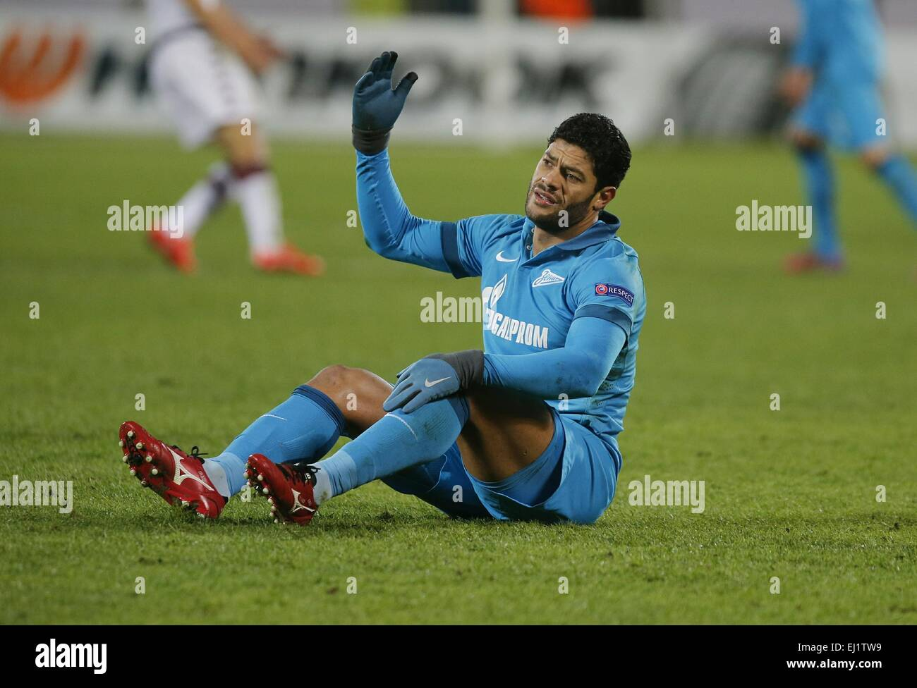 f03093a4 Europa League 2014/15. 1/8 final. FC Zenit San Petersburgo vs Torino F.C.,  2:0. En la foto: FC Zenit jugador Hulk (7).