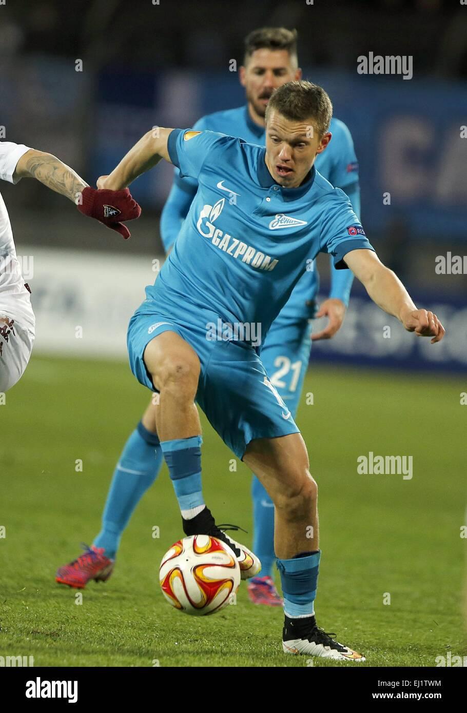 752ee116 Europa League 2014/15. 1/8 final. FC Zenit San Petersburgo vs Torino F.C.,  2:0. En la foto: FC Zenit player Oleg Shatov (17).