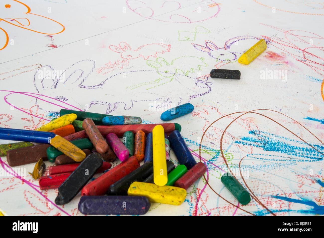 Dibujos Para Colorear Los Niños Niño Coloridos Crayola Paint