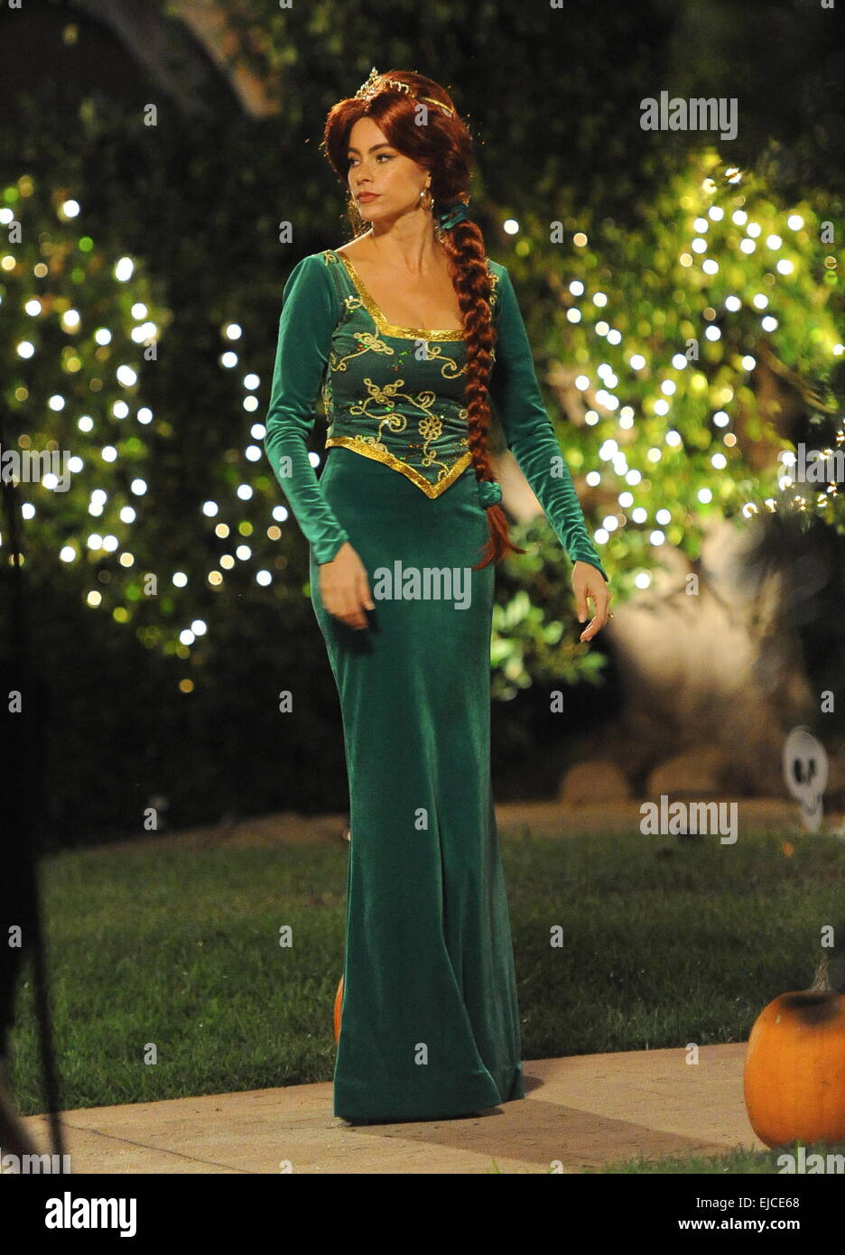 Fotos de fiona vestida de novia