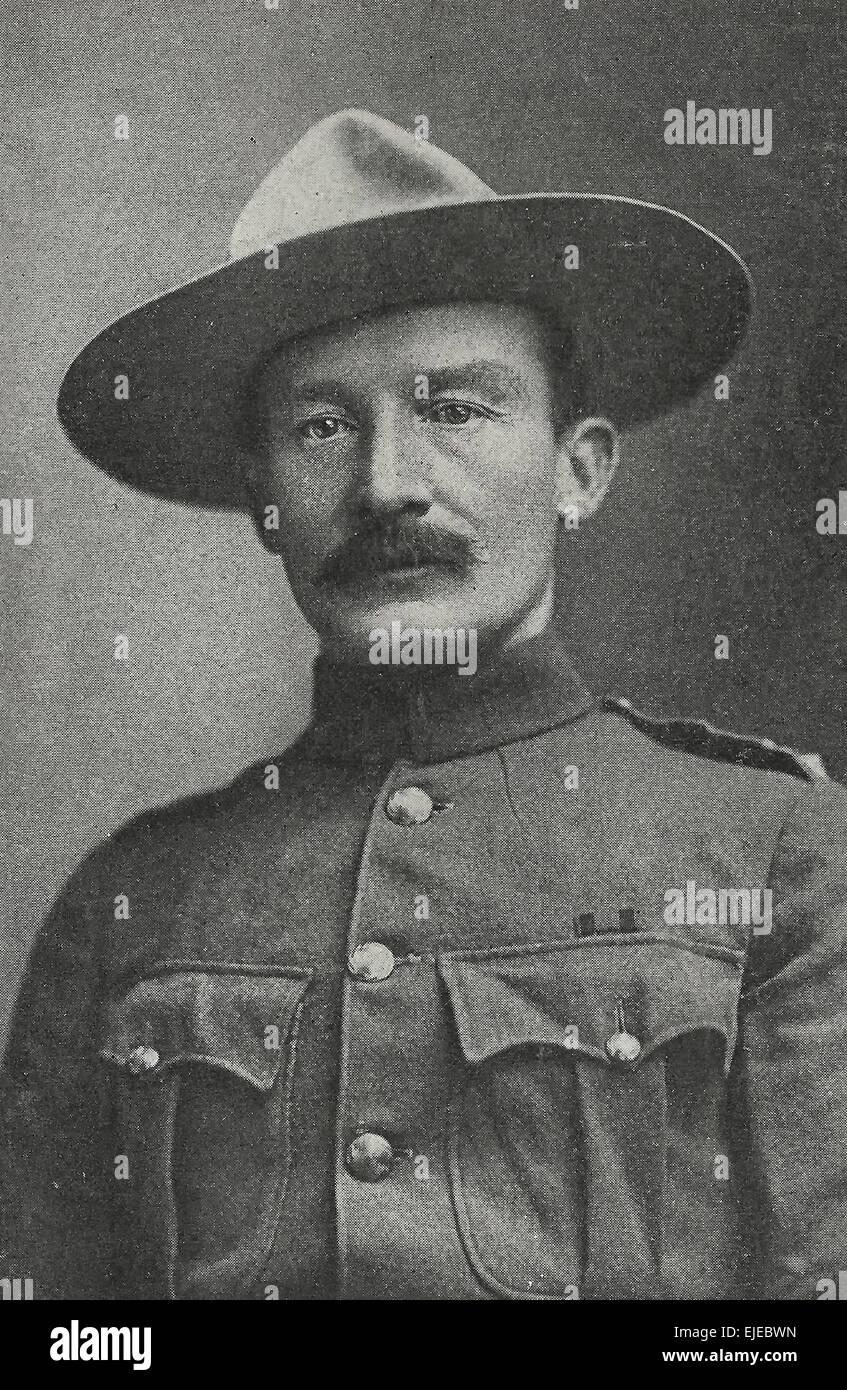 Robert Stephenson Smyth Baden Powell Imágenes De Stock Robert