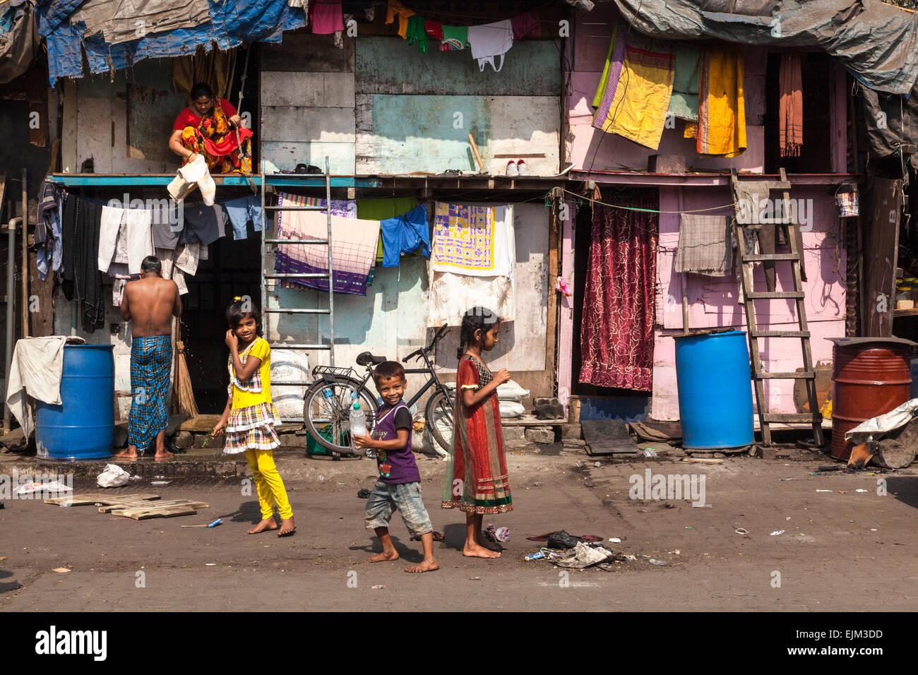 Choza en Mumbai, India Imagen De Stock