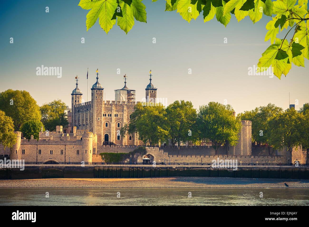 Torre de Londres Imagen De Stock