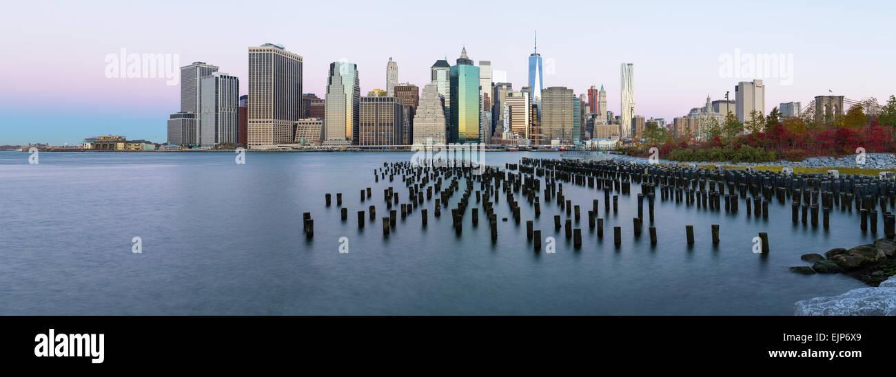 Ee.Uu., la ciudad de Nueva York, el centro de Manhattan, el distrito financiero, One World Trade Center (Freedom Imagen De Stock
