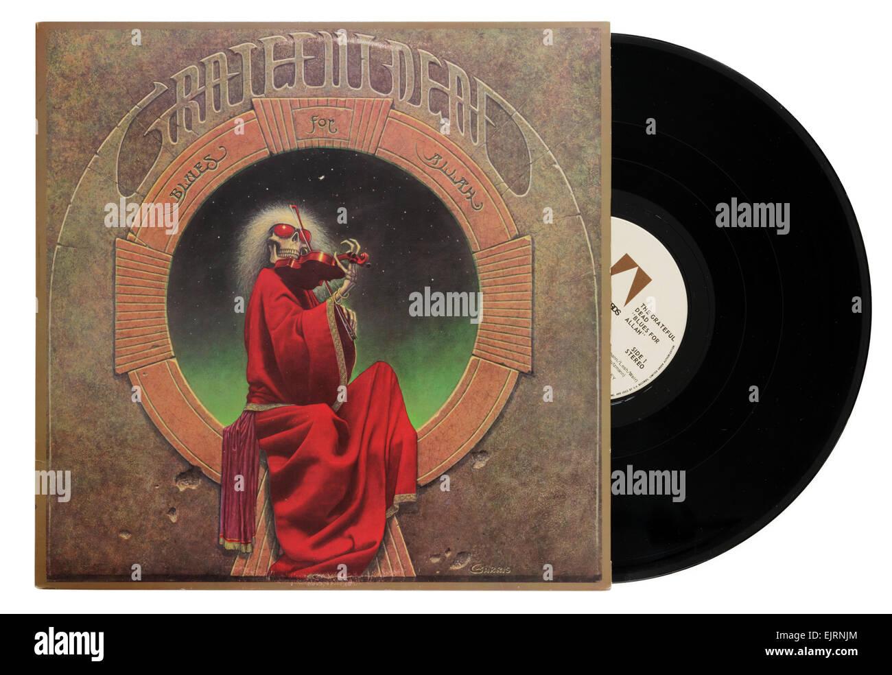 Grateful Dead Blues para Alá álbum Imagen De Stock