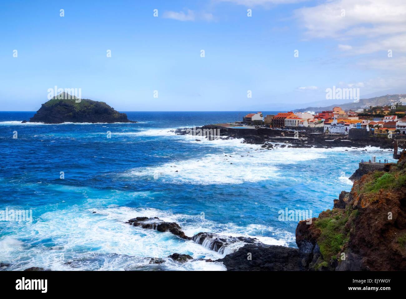 Garachico, Tenerife, Islas Canarias, España Imagen De Stock