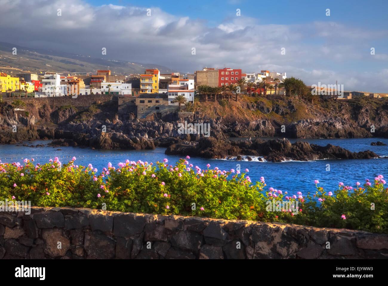 Alcala, Tenerife, Islas Canarias, España Imagen De Stock